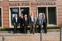Hans Hund, Günther Kremer, Hans Rath, Prof. Dr. Reinhard Klenke, Knut Heine, Josef Scharlau und Christoph Bruns