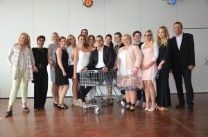 Lossprechung Frisörinnung Bocholt-Rhede-Isselburg,27. Juni 2015